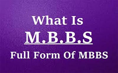 Original Details Of MBBS