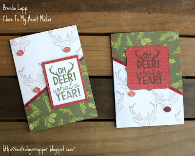 Oh Deer What A Year cards