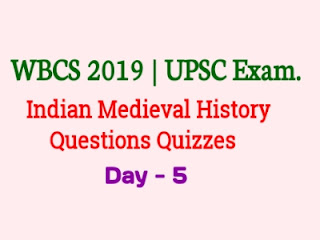 Indian Mediaval History Questions Questions Quizzes