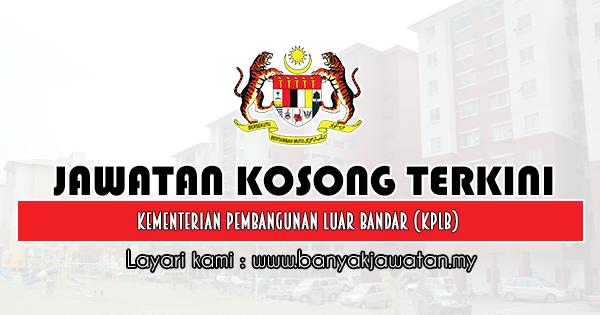 Jawatan Kosong 2019 di Kementerian Pembangunan Luar Bandar (KPLB)