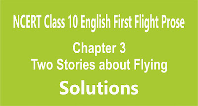 Chapter 3 Two Stories about Flying