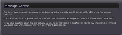 halaman untuk menerima pesan isitus Rent-A-Hacker