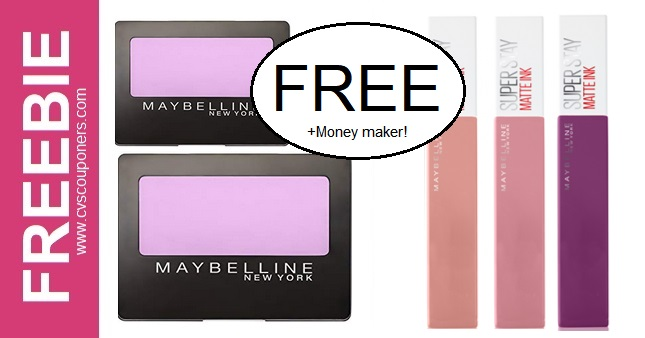 FREE Maybelline Lip Gloss at CVS