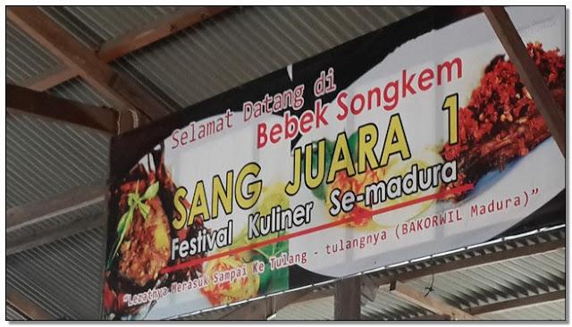 Rumah Makan Di Bangkalan Madura – Lezatnya Bebek Songkem Pak Salim