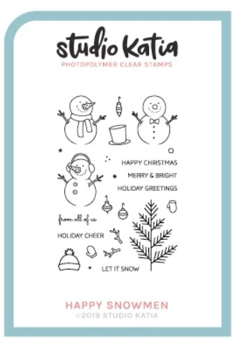 Studio Katia - HAPPY SNOWMEN