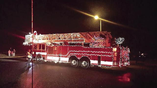 Projeto Natal de Luz do corpo de bombeiros passará por Senador Sá nesta segunda, 21 de Dezembro.