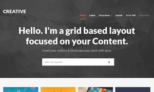 Creative - Clean & Responsive Blogger Template