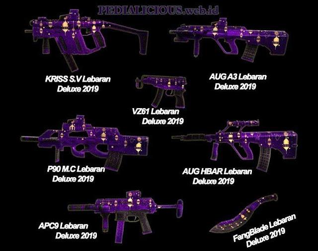 Harga & Statistik Seri Lebaran19 Deluxe Senjata Point Blank