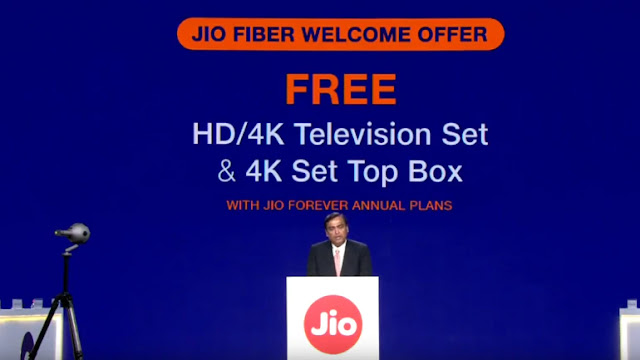 Jio Fiber Welcome offer Launched in India: All detail about Price, Plans and many more offers