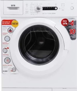 IFB 6 kg Fully-Automatic Front Loading Washing Machine (Diva Aqua SX, Silver, Inbuilt Heater, Aqua Energie water softener)