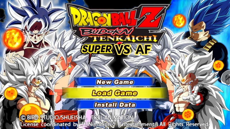 Dragon Ball Super Vs AF DBZ Tenkaichi Tag Team Mod For Android PSP