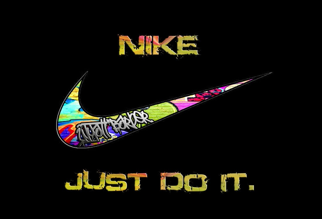 Nike Swoosh Wallpapers: Colorful Nike Logo Just Do It Images Pictures Becuo