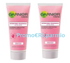 Logo Diventa tester Garnier Hand Cream