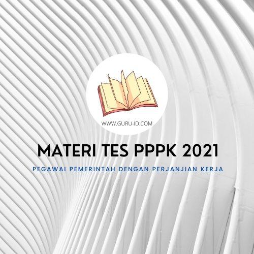 gambar materi tes pppk 2021