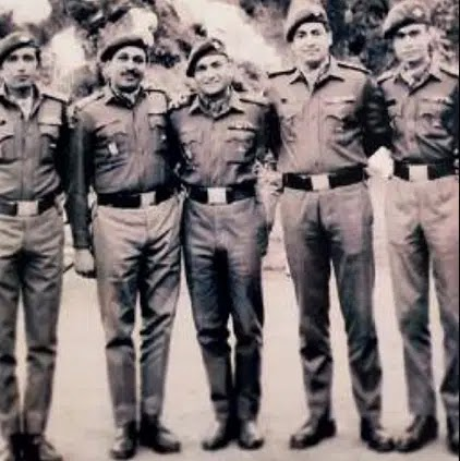 (Clockwise) The team that conducted a raid during the 1971 war; the Raiders of Pakistan Artillery Gun Position; and one of the Mandhol raid commandos