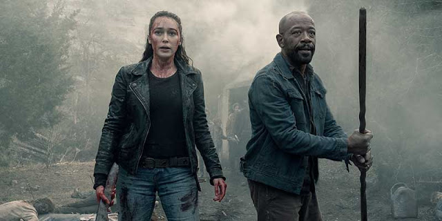 Fear the Walking Dead, Quinta temporada, Alycia Debnam-Carey, Lennie James