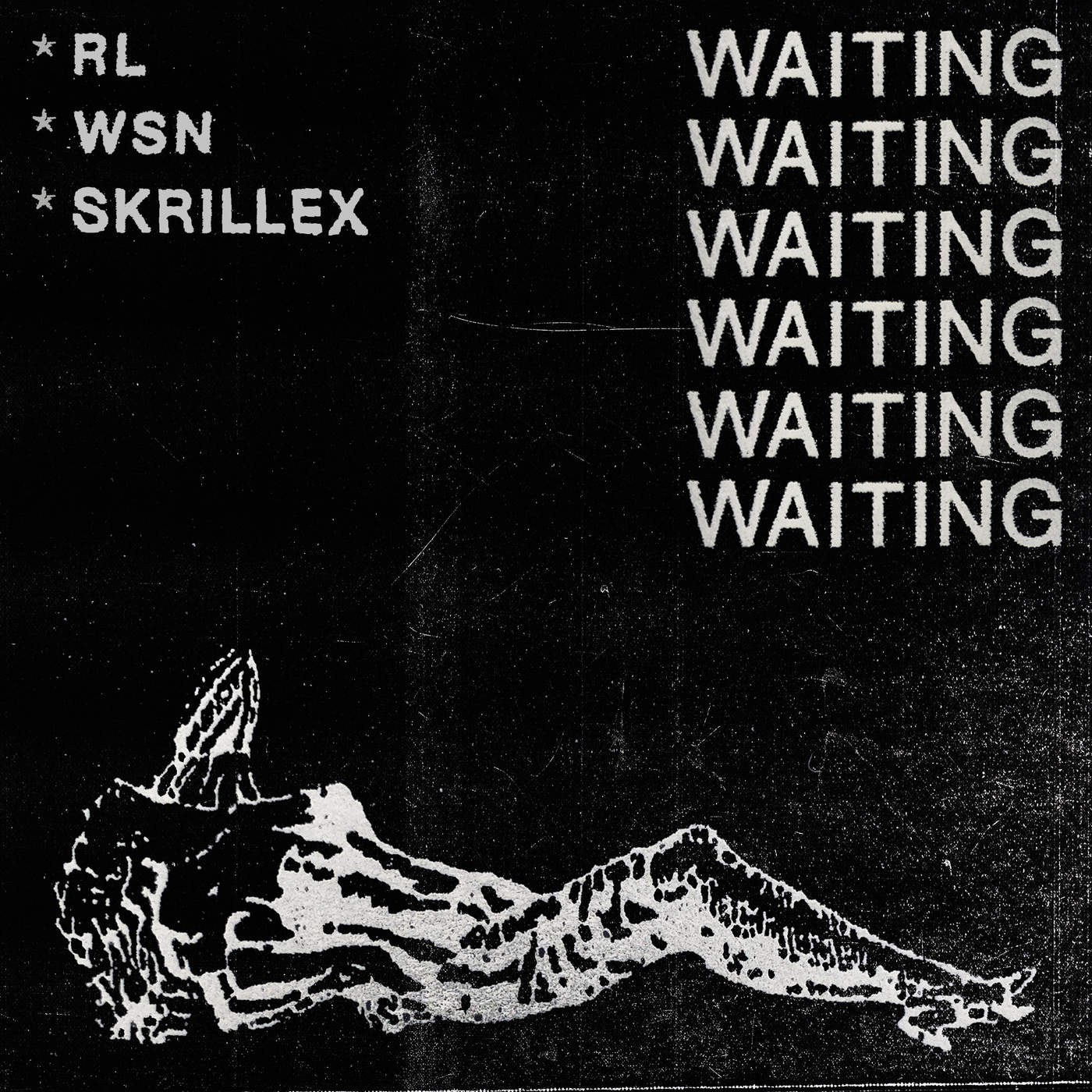 RL Grime, What So Not & Skrillex - Waiting - Single Cover