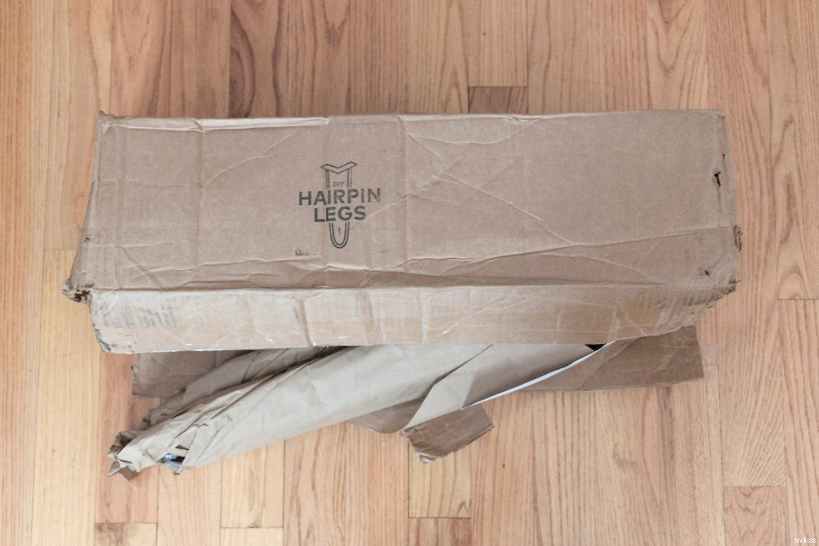 lavlilacs August 2017 haul - DIY Hairpin Legs box
