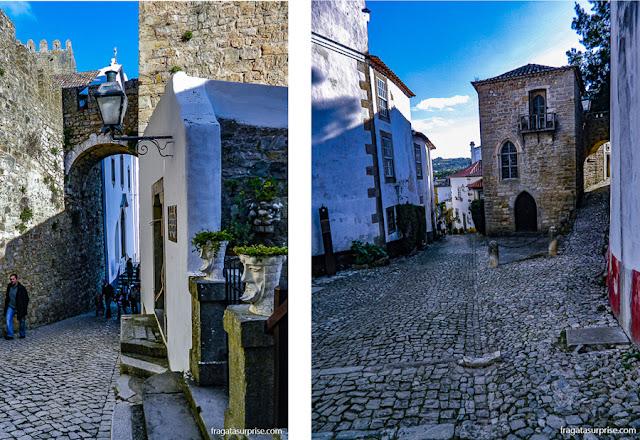 Rias medievais de Óbidos, Portugal