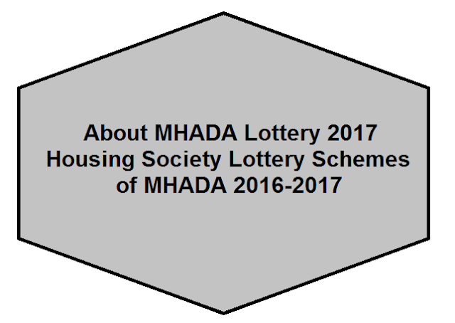 About MHADA & Housing Society Lottery Schemes of MHADA 2016-2017
