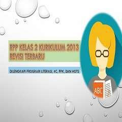 RPP K13 Kelas 2