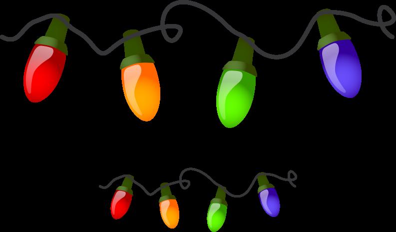 Top 20 Christmas Lights Clipart