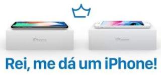 Cadastrar Promoção Rei do IPhone 2018 Me Dá Um IPhone Concorra IPhone X ou 8 Plus