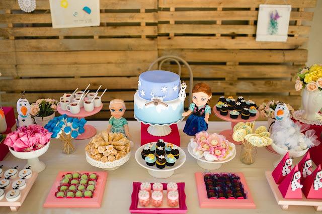 Frozen, aniversário, releitura, decoração, diy, faça você mesma, inspirações, tema frozen, doces, comidas