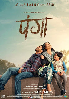 Download Panga (2020) Hindi Full Movie 480p PreDVDRip