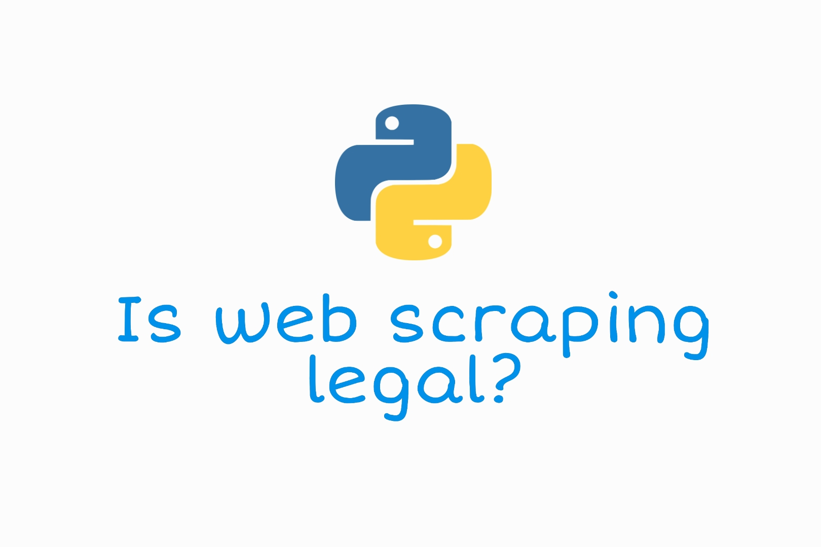 Is web scraping legal?