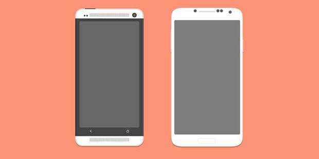 Mobile Flat Design