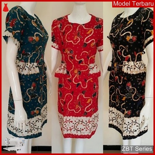 ZBT13209 Kebaya Batik Couple Dres Natali Warna BMGShop