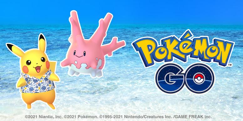 Pokémon GO Corsola Brilhante