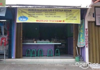Warung Burjo Kok Nggak Jualan Bubur Kacang Ijo