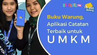 Buku Warung, Aplikasi Catatan Terbaik untuk UMKM
