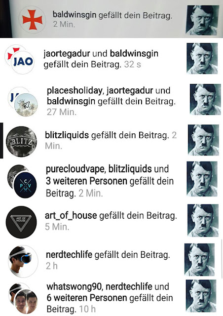 Firmen die Hitler Liken