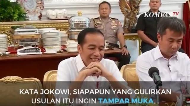 Jokowi Tolak Amandamen UUD untuk Jabat 3 Periode, Said Didu: Biasanya yang Terjadi Sebaliknya