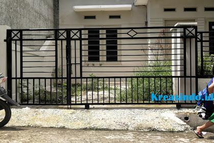 Jasa Pintu Pagar Besi di Minimalis Depok dan sekitarnya Harga Bersaing