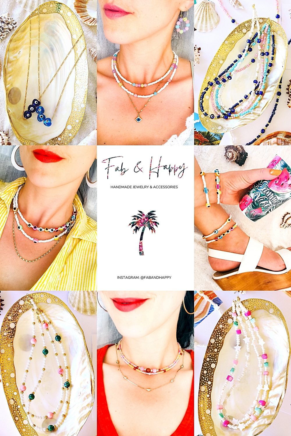 0 FAB & HAPPY handmade jewelry & accessories for happy travelers and fab spirits