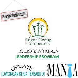 Lowongan Kerja Terbaru PT Sugar Group Companies
