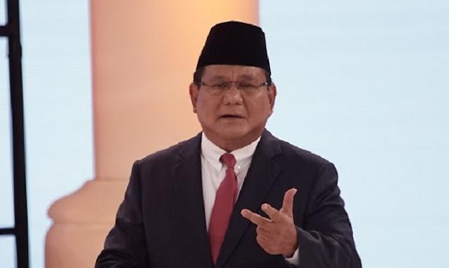Jelang Masa Tenang, Prabowo Himbau Relawan Jaga TPS