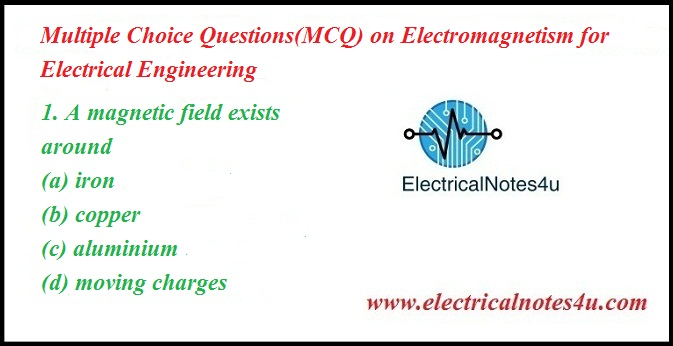30 Most Asked Objective Questions or MCQ on Magnetism and
