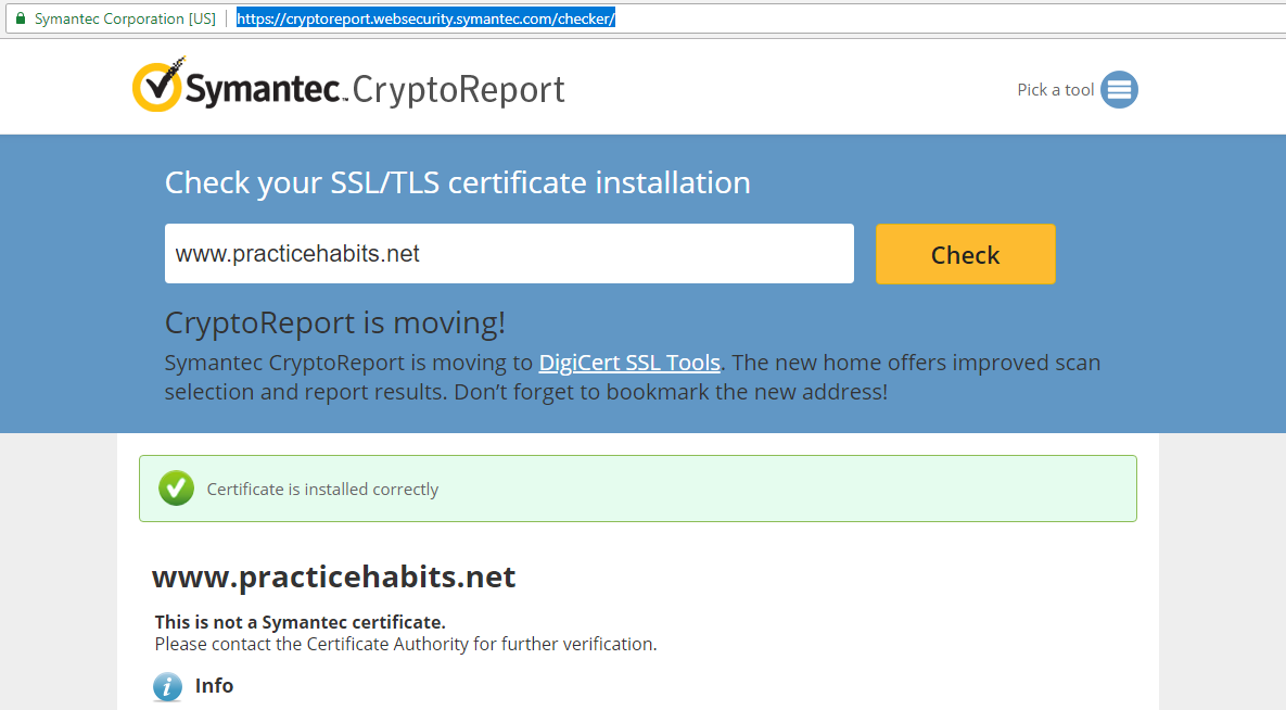 Check Ssl Certificate Installation Luyn