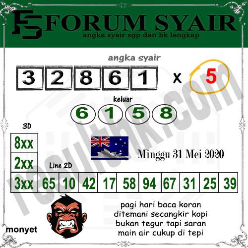 Syair Sidney Minggu 31 Mei 2020 - Forum Syair Sydney