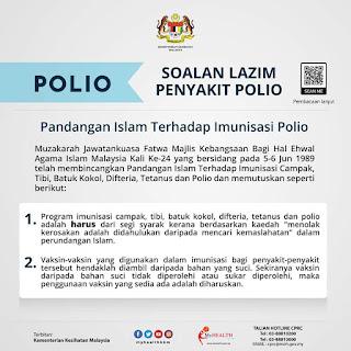 Apa itu POLIO? Siapakah Yang Berisiko Dan Bagaimana POLIO Merebak