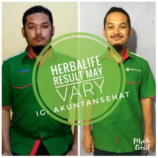 Saya, Bambang Ardianto, Konsultan Resmi Herbalife Baturaja berhasil turun 15Kg