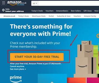 Cara buat Akun Amazon Prime Mobile Legends
