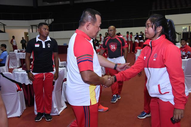 Asops Panglima TNI Sambut Kedatangan Kontingen Military World Games 2019