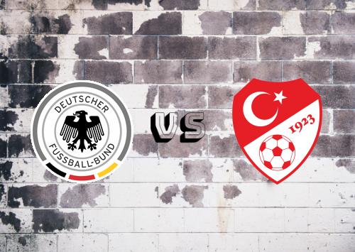 Alemania vs Turquía  Resumen y Partido Completo