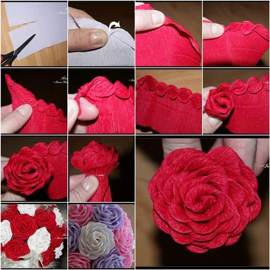 4-diy-flores-de-papel-para-qualquer-ocasião-rosa-com-papel-crepon